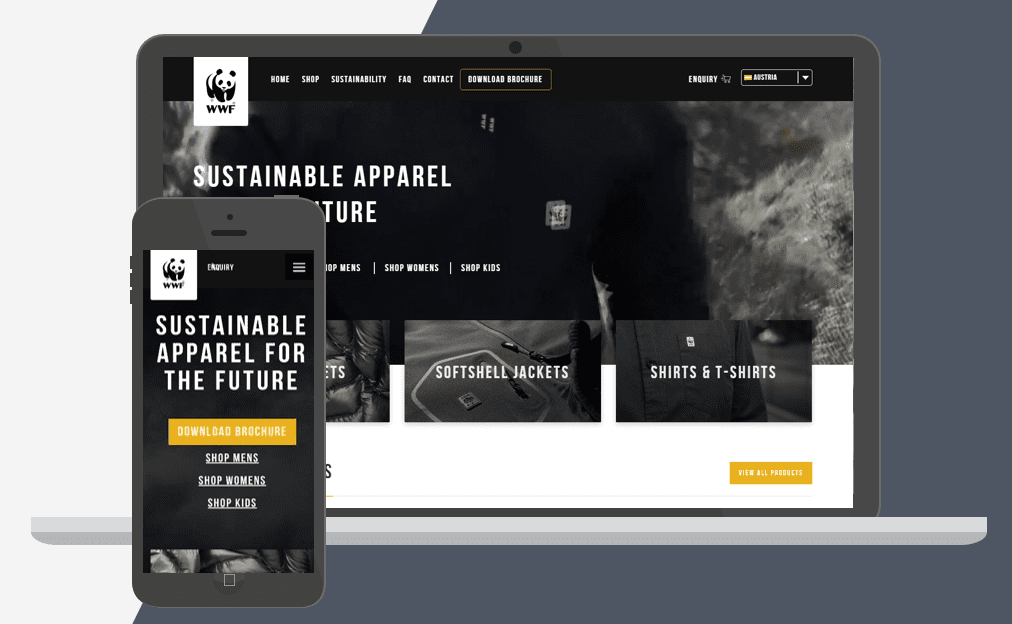 WWF Shopify Plus Store