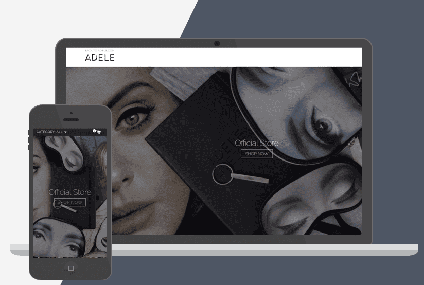 Adele Shopify Plus Store