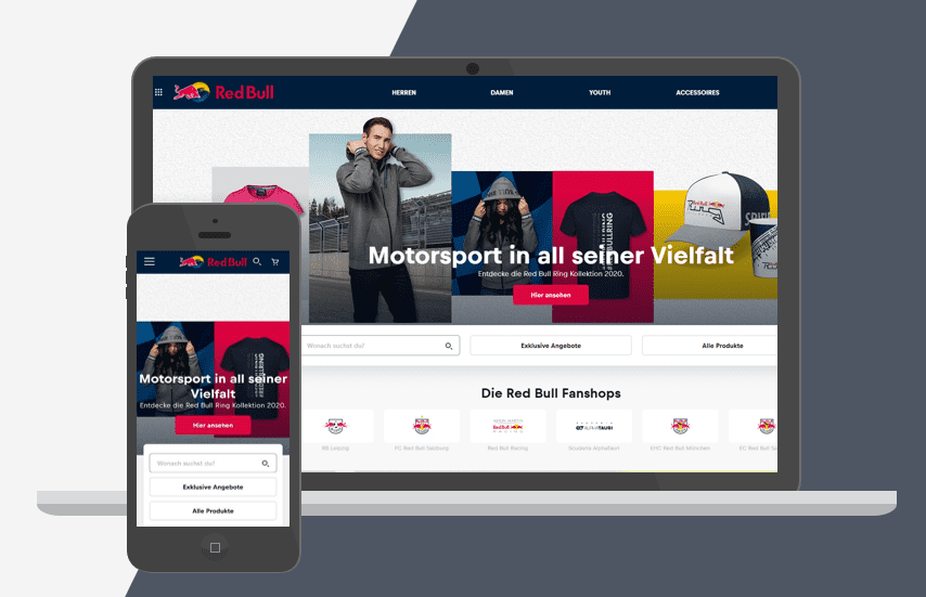 Red Bull Shopify Plus Store